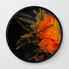 Flowering Tea Wall Clock