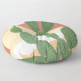 Abstract Cactus II Floor Pillow