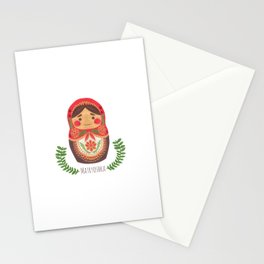 Matryoshka Doll Stationery Cards