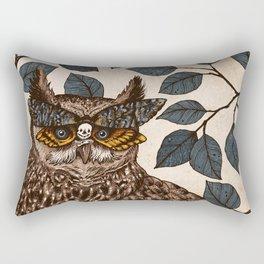 Deaths Head Rectangular Pillow