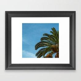 Tropical landscape Framed Art Print