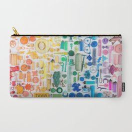 beach trash collage Carry-All Pouch