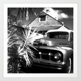 Bywater Blues, New Orleans Art Print