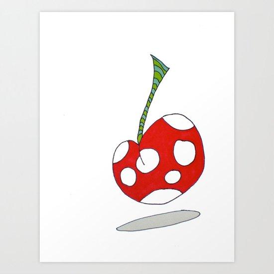 """Cherry on Top"" Art Print"