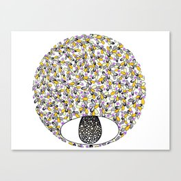 Flower Drop Canvas Print