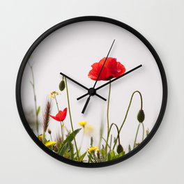 Spring Flora 1086 Wall Clock