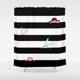 Hide and Seek Shower Curtain