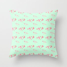 koi fish Throw Pillow