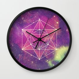 Merkaba Wall Clock