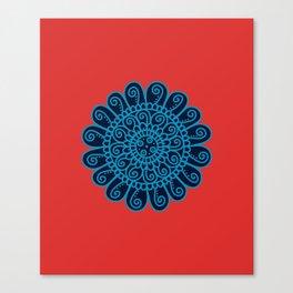 Dedication Swiss Mandala Canvas Print
