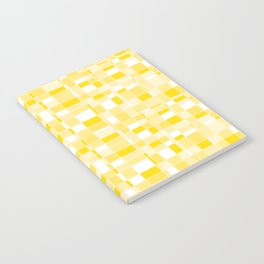 Mod Gingham - Yellow Notebook