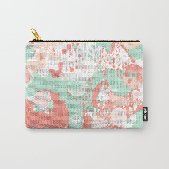 Anais - abstract minimal modern art print home office must have canvas wall art Carry-All Pouch