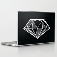 diamond Laptop & iPad Skins featuring Diamond by stephanie nichole