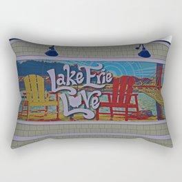 Lake Erie Love Rectangular Pillow