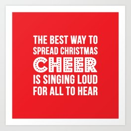 Christmas Cheer Art Print