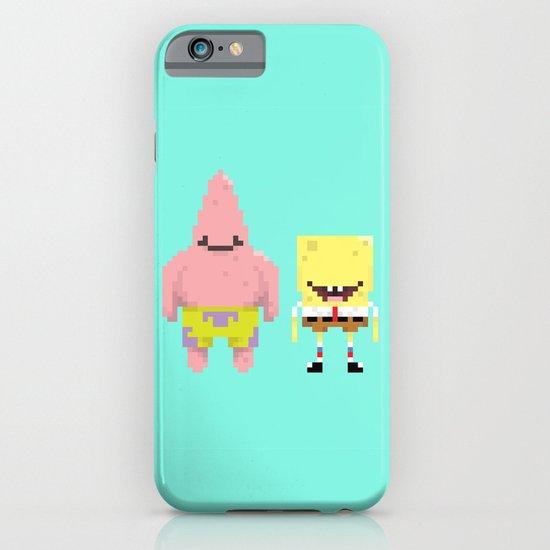 A Sponge & Starfish iPhone & iPod Case
