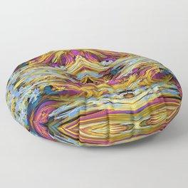 Fluid Paint  Floor Pillow