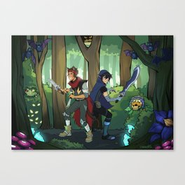 Monsters and Mana Klance Canvas Print