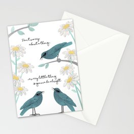 Three Little Birds (Parts 1 and 2) Stationery Cards