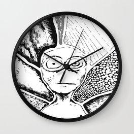 Alien voyage Wall Clock
