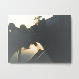 The Unclear Path Metal Print