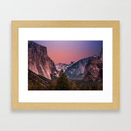 Yosemite Valley #society6 #decor #buyart Framed Art Print