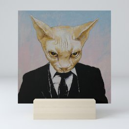 Mister Cat Mini Art Print