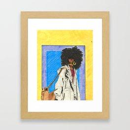 Bag Lady Framed Art Print