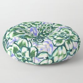 Ascending Succulent Floor Pillow