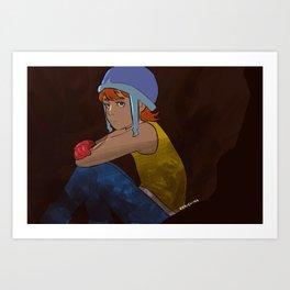 Odaiba Day - Sora Art Print