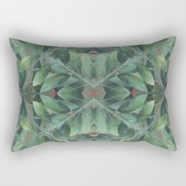 Circles in Nature Rectangular Pillow