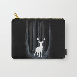 Glowing White Stag Carry-All Pouch