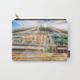 Arsenal Football Club Emirates Stadium London Sun Rays Carry-All Pouch