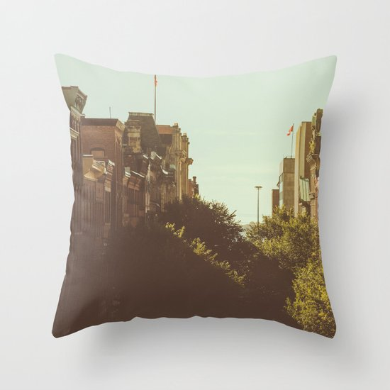 Fall on Prince William Throw Pillow