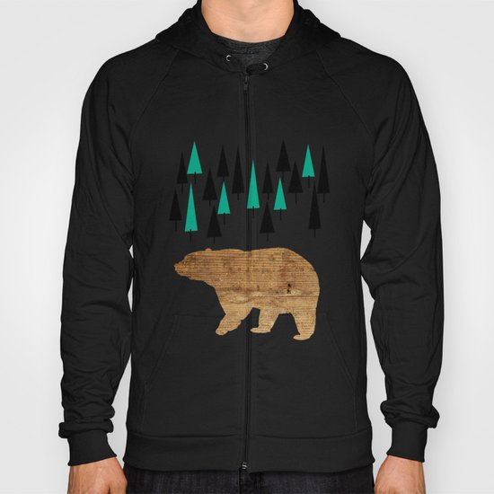 Bear in the woods Hoody