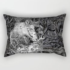 Elk Decay Rectangular Pillow