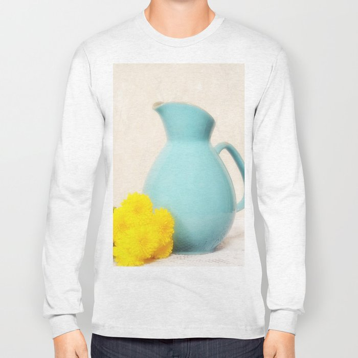 The Yellow Mums Long Sleeve T-shirt