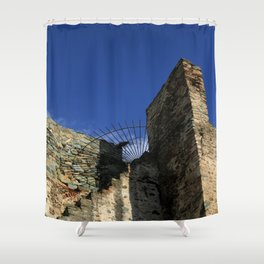 Thessaloniki III Shower Curtain