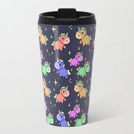 Nightime Unicorns Travel Mug