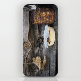 Old Boots and Washtub iPhone Skin