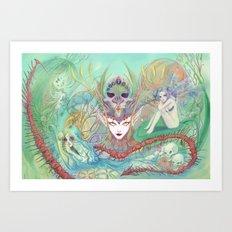 The Secret of Fantasies Art Print