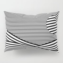 black & white Pillow Sham