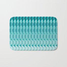 pattern leaves in the moonlight Bath Mat
