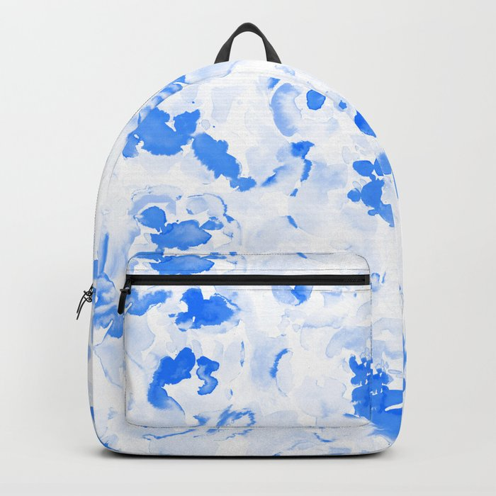AbstractFlora Lapis Blue Backpack