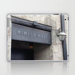Door sign Old Montreal Laptop & iPad Skin