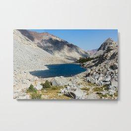 Upper Morgan Lake Metal Print