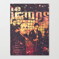 sopranos Canvas Prints featuring The Sopranos (in memory of James Gandolfini)2 by Nechifor Ionut