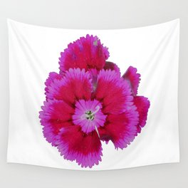 red bloom Wall Tapestry