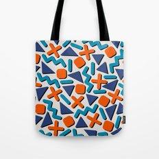 90s Retro Memphis Pattern Tote Bag