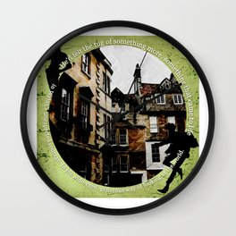 Jesper and Wylan - Unexpected Wall Clock